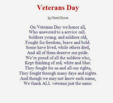 Famous Veterans Day Poems 2019