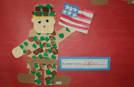 Veterans Day Crafts for Elementary