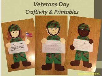 Veterans Day Crafts for Preschoolers