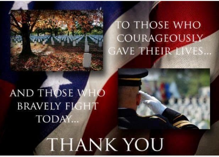 Veterans Day Thank You Quotes 2019