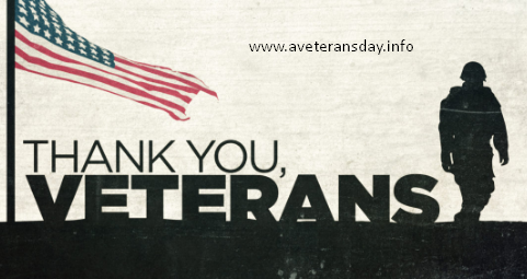 Veterans Day Observed 2019