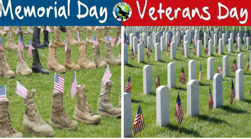 What is the Difference Between Veterans Day and Memorial ...