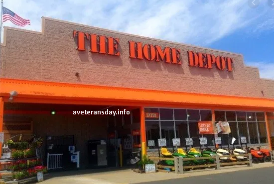 Home Depot Veterans Day Discount 2020