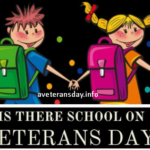 Is there School On Veterans day 2020