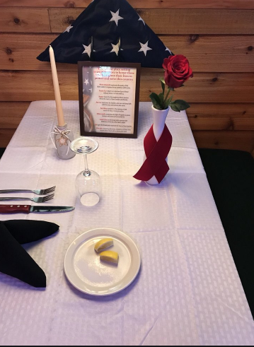 Table Decorations for Veterans Day