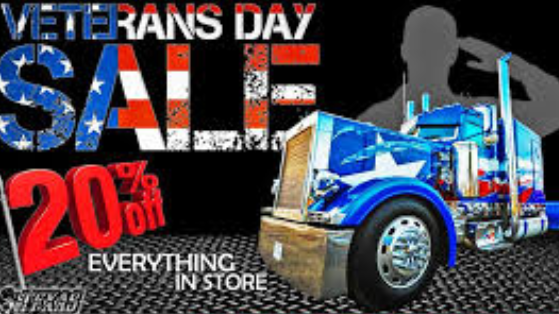 Veterans Day Tire Sale