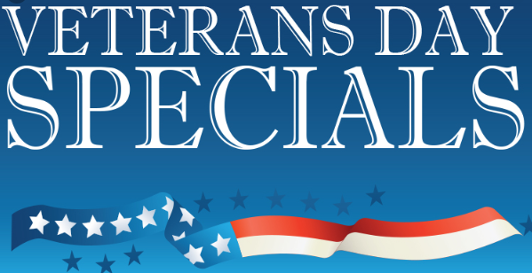 Veterans Day specials 2020
