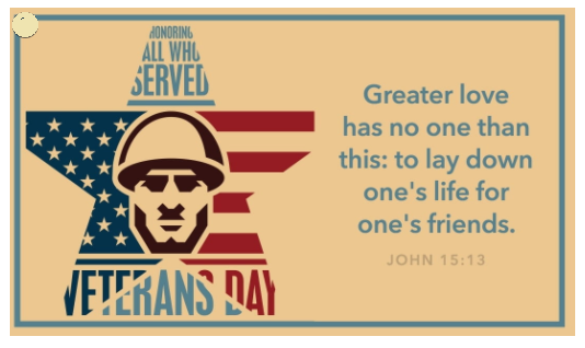Veterans Day Cards 2020