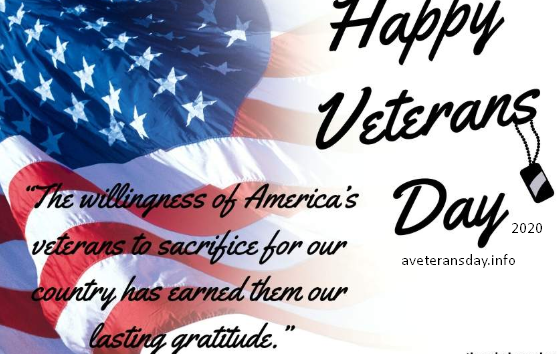 Happy Veterans Day Quotes 2020
