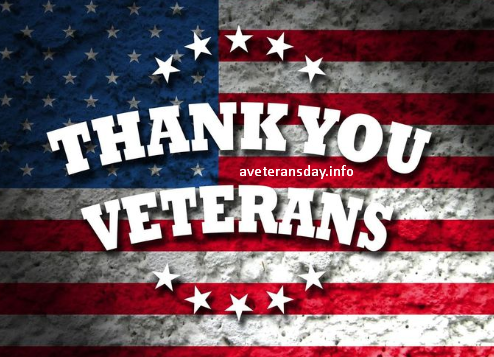 Veterans Day Thank You Clipart