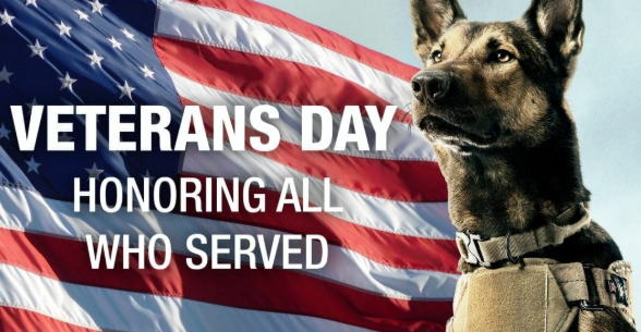 Honoring K9 Veterans