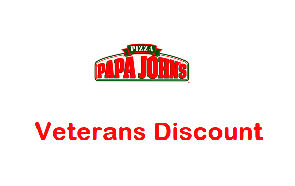 Papa johns veterans discount 2020