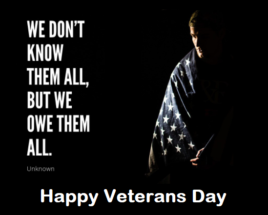 Veterans Day Inspirational Quotes 2020