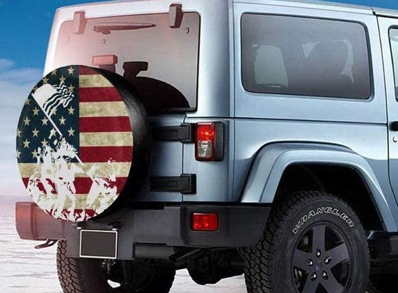 Veterans Day Tire Covers